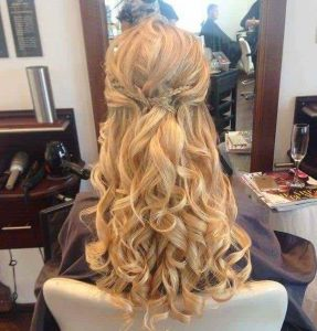 wedding hair in Devon at Andrew Hill Salon